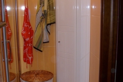 Сантехнический короб обложенный плиткой