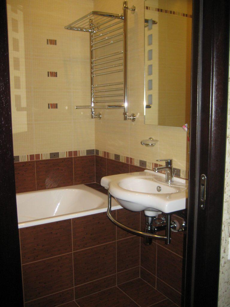 Ремонт ванной комнаты на Ленина